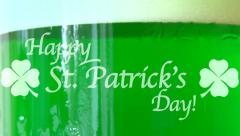 Happy St Patricks Day Loop Stock Footage