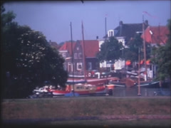 Netherlands 1970s - Super 8mm film 2. Stock Footage