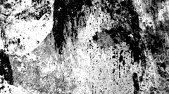 Black and white grunge texture Stock Footage
