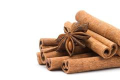 Anice and cinnamon Stock Photos