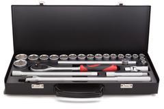 auto tool kit - stock photo