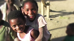 0857 Into an African Children Eyes 2 - stock footage
