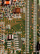 Microchips details Stock Photos