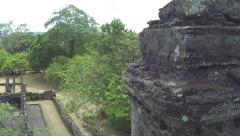 AERIAL: Ancient temples in Sri Lanka - stock footage