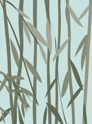 willow leaves - stock illustration