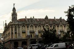 View of la havana building Stock Photos