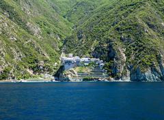 Dionissiou monastery, Stock Photos