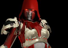 Stock Illustration of Advanced cyborg soldier