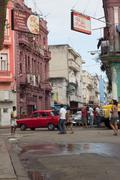 Street view in la havana Stock Photos