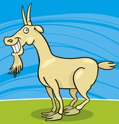 Stock Illustration of Goat