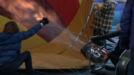 Hot Air Balloons, Flame, Burner, Propane, Inflate, 4K Stock Footage