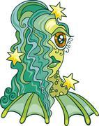 Stock Illustration of Zodiac aquarius sign