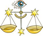Stock Illustration of Zodiac libra sign