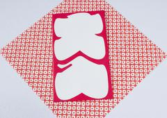 Oiri-bukuro (Envelope for a full-house bonus) - stock photo