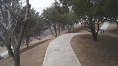 China Beijing Park Yuanmingyuan 12 Stock Footage