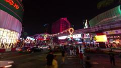 Bukit Bintang timelapse Stock Footage