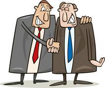 Politics agreement Stock Illustration