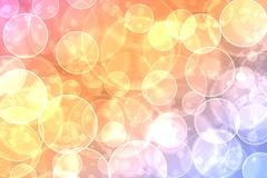 abstract on a colorful background digital bokeh effect - stock illustration