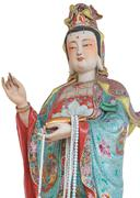 Kuan yin statue Stock Photos