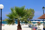Stock Photo of mastichari beach on kos island.