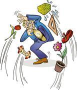 Teacher's day - stock illustration