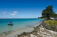 Stock Photo of rangaunu harbour in karikari peninsula new zealand