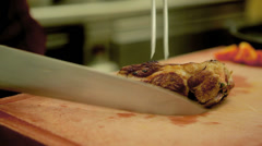 Meat Cutting Stock Footage