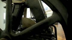 Machine Wheel Stock Footage
