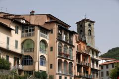 Castelnuovo di garfagnana Stock Photos