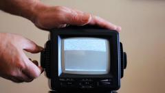 T.V. Repair - stock footage