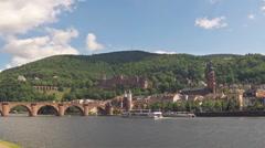 Heidelberg Timelapse Stock Footage
