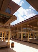 Mrigadayavan palace (marukhathaiyawan) in cha-am, thailand Stock Photos