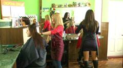 Barbershop 1 Stock Footage