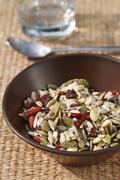 Mixed cereals - stock photo