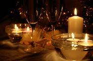 Stock Photo of Christmas evening