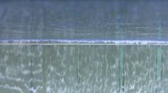 Overflowing pool of slime - stock footage