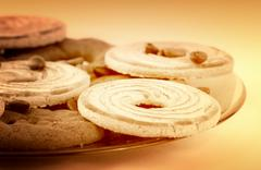 sweets cookies - stock photo