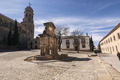 Source of santa maria, world heritage site, baeza, jaen province, andalusia,  Stock Photos