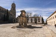 Stock Photo of source of santa maria, world heritage site, baeza, jaen province, andalusia,