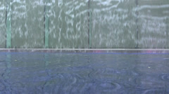 Glass waterfall 2 - stock footage