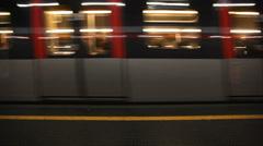 Metro Train - stock footage