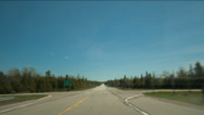 Stock Video Footage of Hyperlapse Highway Drive
