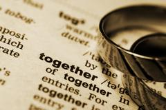 Together forever - stock photo