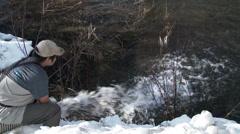 Salmon, Juvenile, Fish, Hatchery, 4K, UHD Stock Footage