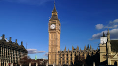 Big Ben, Westminster, London Stock Footage