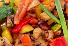 Ratatouille from vegetables Stock Photos