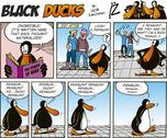 Stock Illustration of Black Ducks Comics episode 44