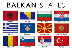 Stock Illustration of Balkans  Southeast Europe