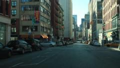 Drive through New York City Timelapse Stock Footage