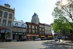 Stock Photo of rue du Buade, Quebec City